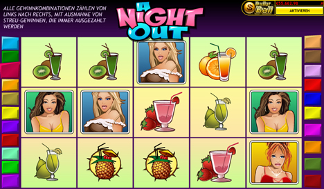 a night out online slot im prestige casino