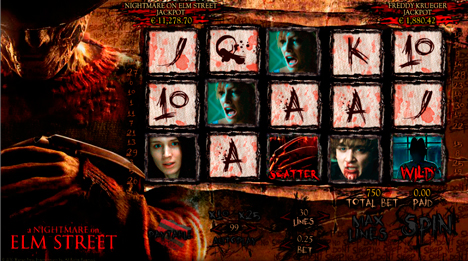 A Nightmare On Elm Street slot - prøv gratis online