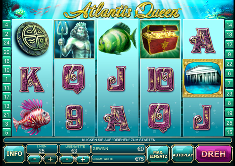 atlantis queen online slot im winner casino spielen