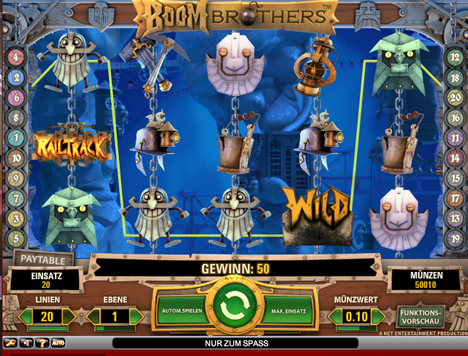 boom brothers online slot im betsson casino