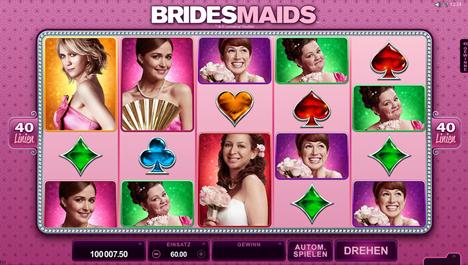 bridesmaids spielen