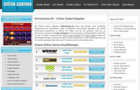 online casino ratgeber quasare