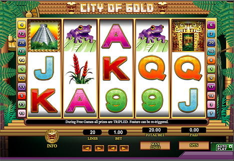 city of gold spielautomat im 888 casino