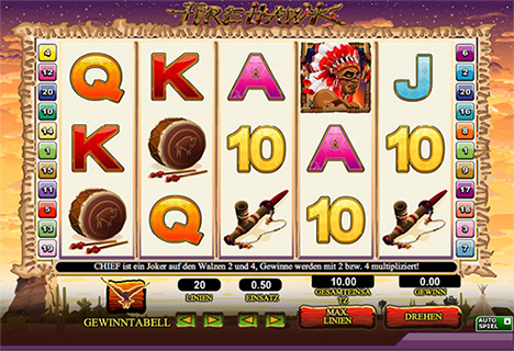 fire hawk slot im 888 online casino