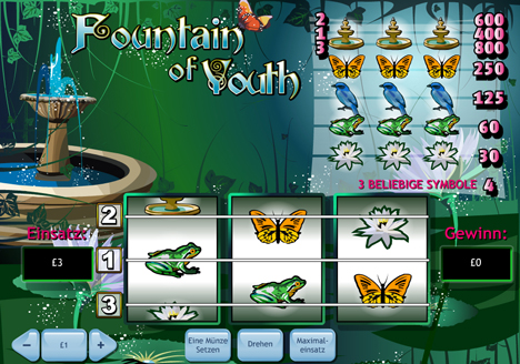 fountain of youth online slot im prestige casino