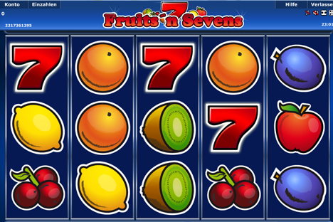 fruits and sevens online slot im stargames casino