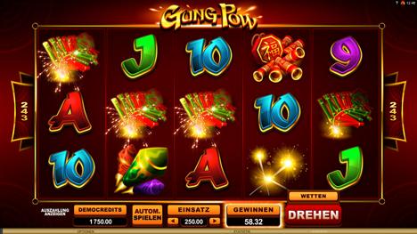 Gung Pow Spielautomat – gratis Microgaming Online-Spiel