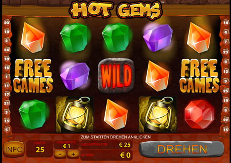 hot gems online slot im winner casino