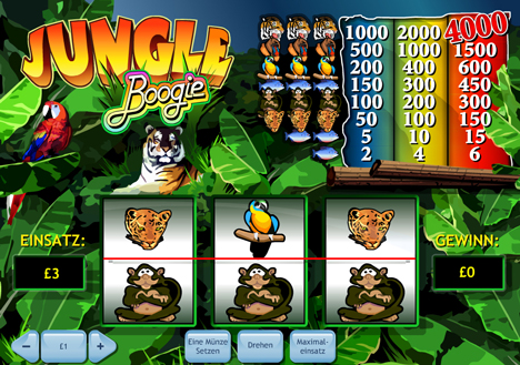 jungle boogie casinospiel im prestige casino