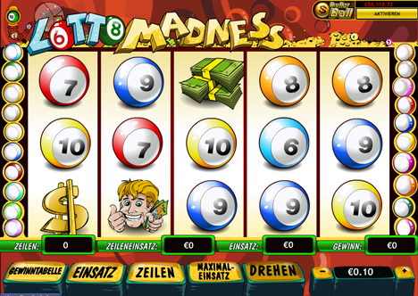 lotto madness online slot im prestige casino