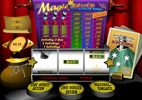 magic slots im prestige casino spielen