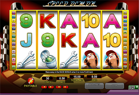 speed demon spielautomat im 888 casino