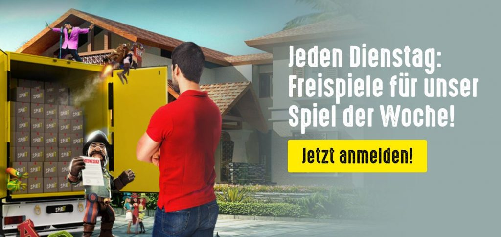 Spinit Casino Aktionen